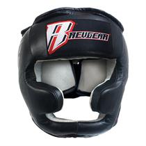 Revgear Leather Head Gear with Chin Protection